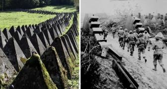 Drakentanden - de verdediging die werd gebruikt tegen tanks in de Wereldoorlogen