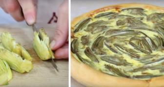 Cette tarte à l'artichaut vous étonnera pour son goût et sa simplicité de préparation.