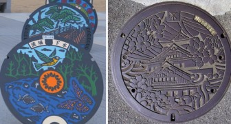 Quando il tombino diviene arte: il Giappone è disseminato di queste bellissime opere