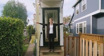 Een huis van een meter breed... of misschien iets meer! Deze vrouw neemt slim wraak op haar ex-man