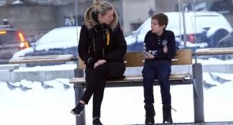 Un enfant au froid, qu'auriez-vous fait à leur place?