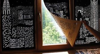 La vue que vous avez depuis votre fenêtre n'est pas terrible? Ces rideaux la rendront unique