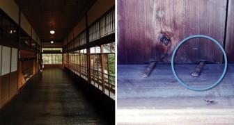Le système utilisé dans l'ancien Japon contre les voleurs: un plancher doté d'un anti-vol inhabituel