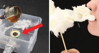 Make your own delicious cotton candy at home!