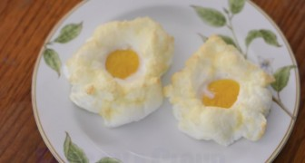 Eggs on a Cloud! --- A trendy new way to prepare eggs!