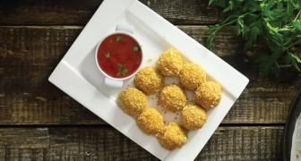 Polpette di patate con cuore filante da preparare in 6 semplici mosse