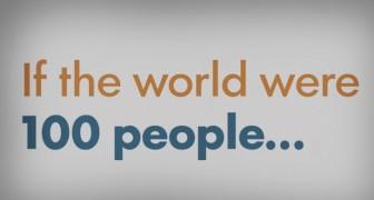 E se il mondo fosse abitato da 100 persone? Questo video vi aprirà gli occhi in 2 minuti