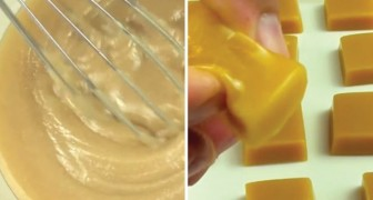 An easy and delicious chewy caramel candy recipe!
