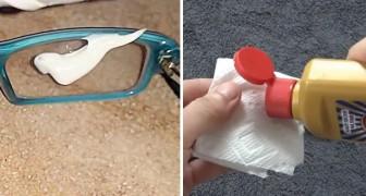 9 façons ingénieuses d'enlever les rayures sur les verres de lunettes