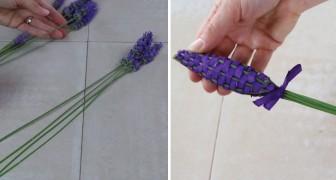 Comment réaliser des fuseaux à la lavande pour parfumer les armoires naturellement