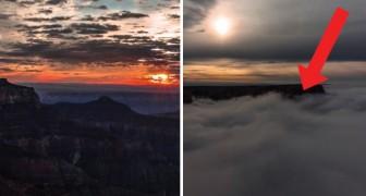Grand Canyon: le telecamere riprendono un fenomeno rarissimo e affascinante