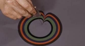 L'effetto marmorizzato degli anni'70: ecco come venivano create quelle trame caratteristiche