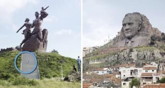 Ces statues sont géantes, mais elles ont aussi un autre record: personne ne les connait!