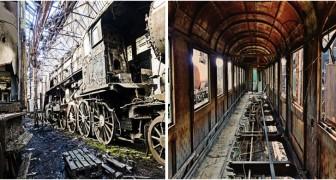 Het treinenkerkhof in Hongarije: verdwaal op deze boeiende, doodstille plek