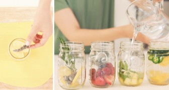 4 modi di preparare l'acqua aromatizzata e rinfrescarvi quando fa caldo