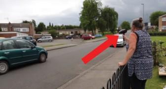 Deze voertuigen overschrijden de maximum snelheid: deze dame grijpt op een bijzondere manier in!