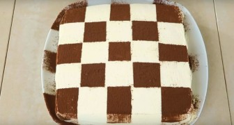 Discover a new cake decoration style for the traditional Tiramisu!