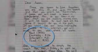 Il figlio fa l'arrogante e insulta la madre: lei gli scrive questa lettera che fa il giro del mondo