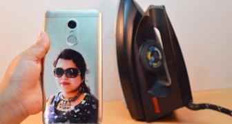 Hur du kan placera ett fotografi på skalet till din mobiltelefon för att göra det personligt
