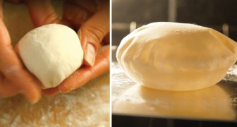 Pita zu Hause gemacht: hier das Rezept dieses weichen Brotes, das man im Ofen oder in der Pfanne zubereiten kann