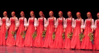 This Russian Folk Dance is ... mesmerizing!