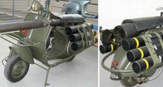 L'effrayante Bazooka Vespa: le scooter qui pouvait abattre des chars de combat