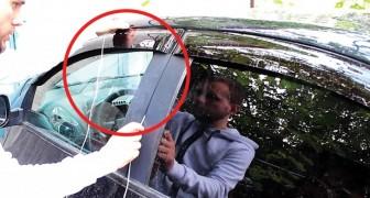 Clés laissées à l'intérieur de la voiture? Voici comment ouvrir la portière en 30 secondes