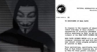 La NASA répond au message diffusé par Anonymous sur la découverte de la vie extraterrestre