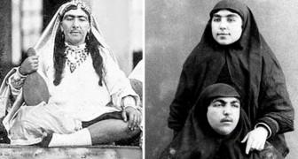 Le Chah de Perse et ses 84 épouses: voici comment étaient réellement les 1001 nuits