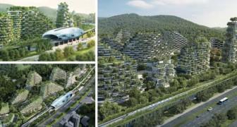 De eerste bomenstad zal verrijzen in China