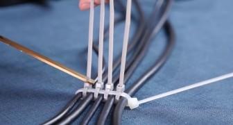 20 astuces et plus avec les colliers de serrage en plastique qui vont vous changer la vie