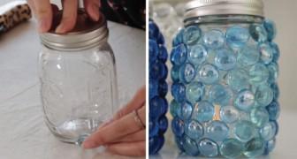 Bewahrt ihr immer Glasbehälter auf? Hier eine Idee zur Wiederverwertung, die euch erobern wird