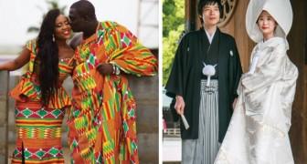 Ecco come appaiono gli abiti matrimoniali nelle varie parti del mondo
