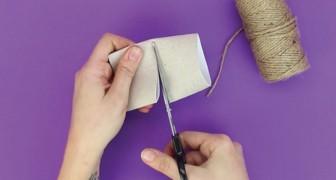 Rolo de papel e cordão: deixe a sua mesa mais linda com estes porta-guardanapos!