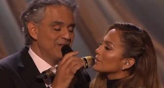 Quizas, Quizas, Quizas a duet by Andrea Bocelli and Jennifer Lopez!