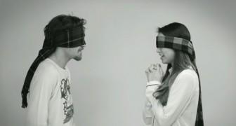 Si incontrano per la prima volta senza potersi vedere: l'appuntamento prende vie inaspettate