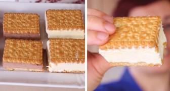 Gelato biscotto fatto in casa: ecco la ricetta che non richiede la gelatiera
