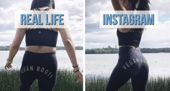 Una giovane blogger rivela la verità sulle foto pubblicate su Instagram