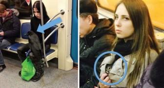 19 persone tra le più strane che si siano mai incontrate in metropolitana