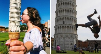 Chi pensa che le foto con la Torre di Pisa siano noiose, non ha ancora visto QUESTE