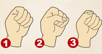The way you close your fist could reveal some aspects of your personality
