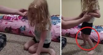 La loro bambina si muoveva in modo strano: poco dopo i medici scoprono qualcosa di orribile fra i capelli