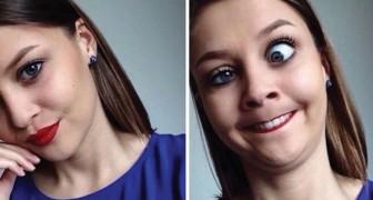 21 foto prima e dopo in cui non crederete si tratti della stessa ragazza