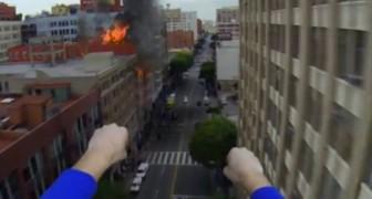 Se Superman avesse la GoPro