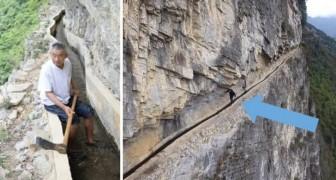 Il lui a fallu 36 ans pour creuser un canal dans la montagne: le projet de cet homme a ému le monde entier