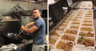 Sie kochen mehr als 1000 Mahlzeiten für die Opfer des Hurrikans aber niemand spricht davon: Ein Post ändert die Geschichte