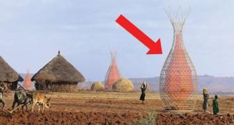 Questa torre ideata da un italiano raccoglie 100 litri di acqua al giorno e disseterà le popolazioni africane
