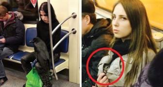 Alcune fra le scene più assurde che si sono verificate in metropolitana