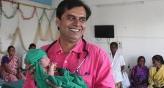 Lotta all'infanticidio delle bambine in India: ciò che fa questo medico è commovente