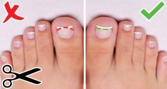 6 suggerimenti preziosi per rendere i vostri piedi e unghie bellissimi